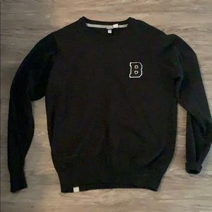 Bench men's sweater black sweater size Large.